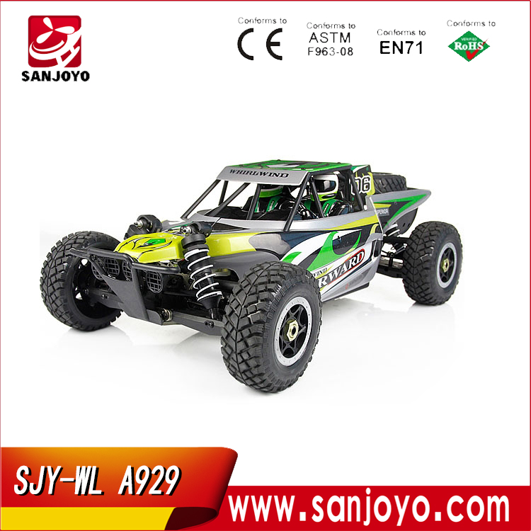 Wl A929 2.4G 1:8 Brushless Self-Assembly High Torque Rc Car Nitro Motors SJY-WL A929