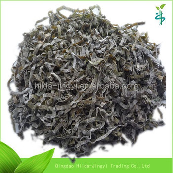 2017 harvest Sun dried sea kelp cut, shredded seaweed laminaria