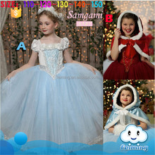 CM-052 Wholesale Baby Clothes Kids Girls Evening Dresses Little Girls Winter Formal Dresses