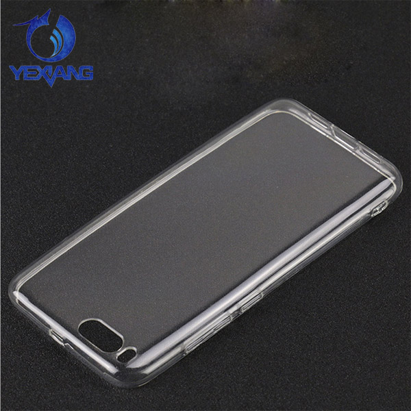 Ultra thin Transparent TPU Gel back cover for xiaomi mi 6 Crystal Case Cover