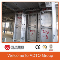 aluminum alloy construction formwork system