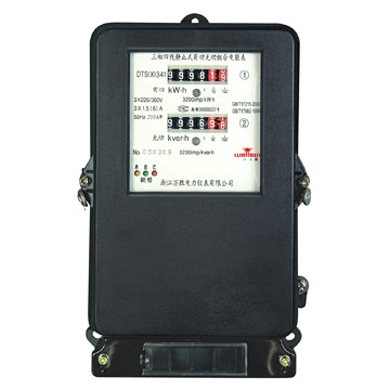 Three-Phase Static Electromechanical Energy Meter