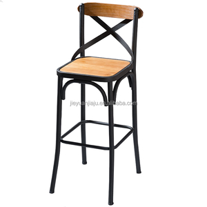 Industrial Metal Breakfast Kitchen Bar Stools Bar Height Chair