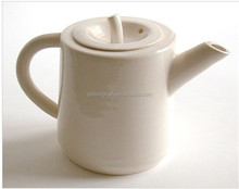 English style ceramic apple lid shape teapot for oem design