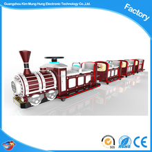 new funny battery operate mini electric train trackless for kids ride in the shopping mall