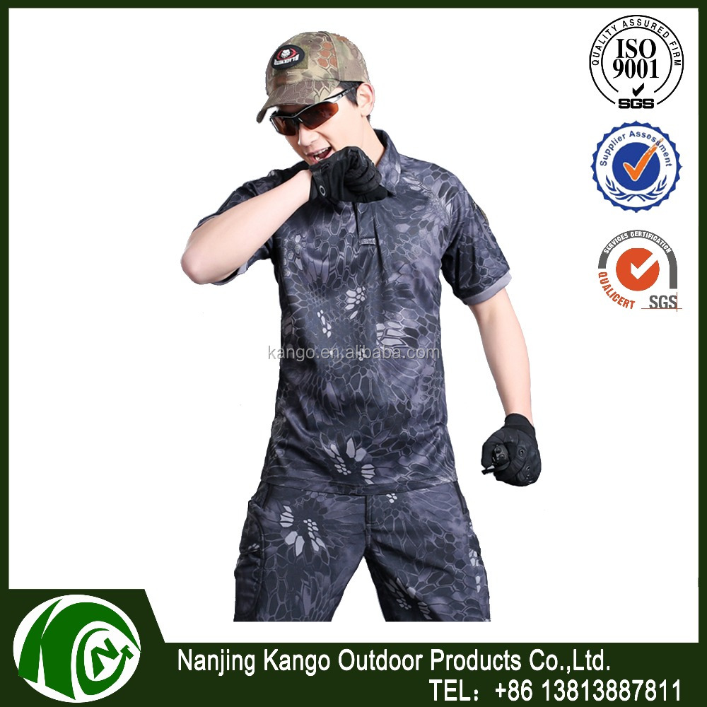Tactical suits military uniform Frog short sleeve t-shirt with long pants