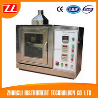 Car Interior Material Flame Retardant Test Machine