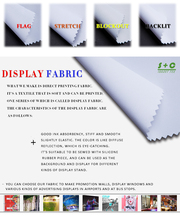 Display Fabric Art Reproduction