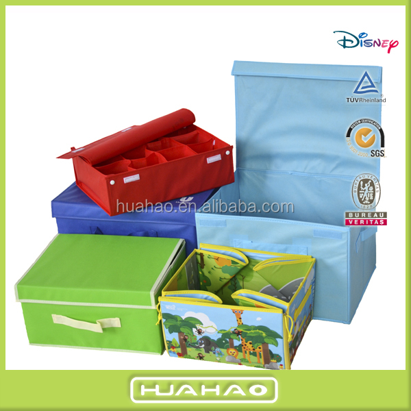 decorative non woven fashion earrings toy storage box