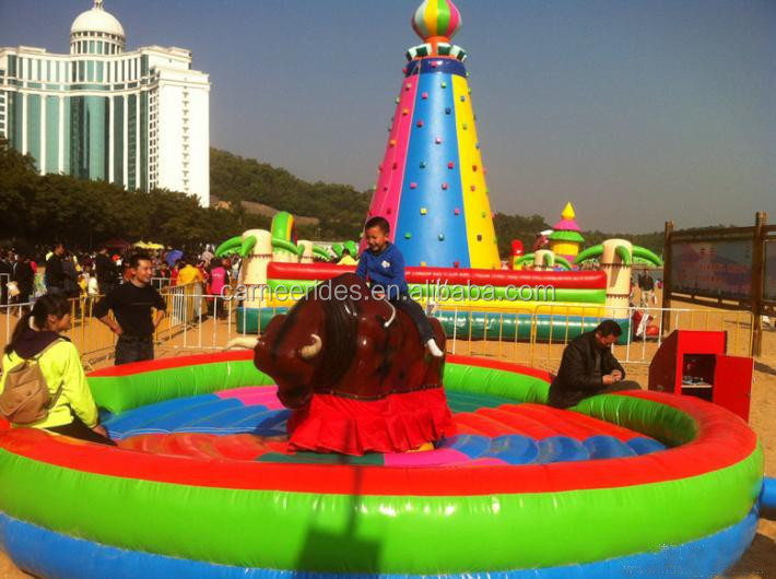 Life Size equipment mechanical bull for sale