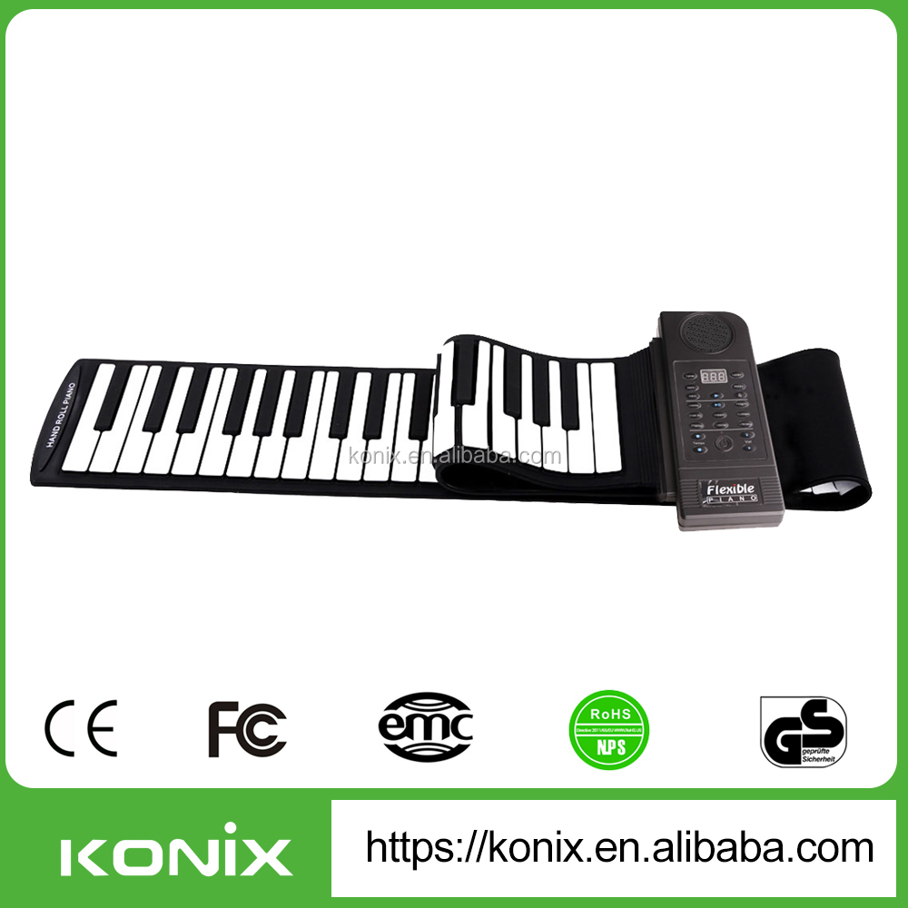 piano lover gifts acoustic piano roland digital piano Christmas gift 88 Keys Roll Up Piano
