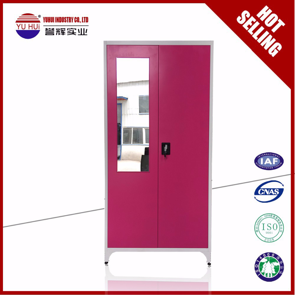 Best seller godrej steel almirah 2 door steel clothes wardrobe cabinet pink steel cothes - Almirah designs for clothes ...