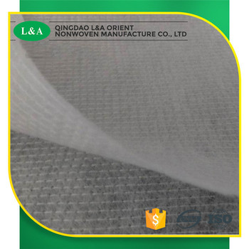 White Colored Stitchbond Nonwoven Fabric