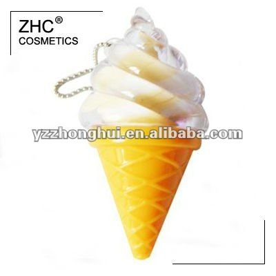 CC35711 ice cream shaped lip gloss with eggcup
