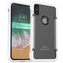 High Quality Shockproof PC+TPU Armor Phone Case for iPhone X, Many Colors Available