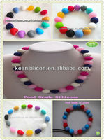 Hot !!!Non-toxic Custom Colorful Silicone Beads/Wholesale DIY Beads