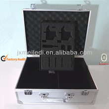 2013 Heavy Duty Aluminium Tool Boxes Carry Case for Tattoo Piercing Machine Kit with EVA