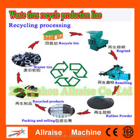 Low Cost Recycling Production Line For Waste Tire Recycling