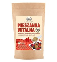 Breakfast vital mix 300g (flax seed, dried strawberry, chickpeas, pumpkin seeds)