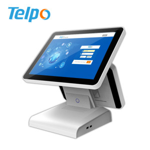 Retail Android Dual screen Web based ip Epos Solution Point of Sell With WiFi 802.11b/g/n, Bluetooth 4.0, Ethernet