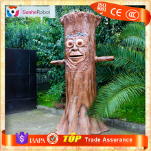 Fairy tale amusement talking artificial tree without leaves