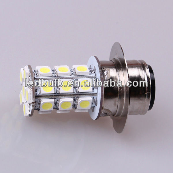 Motorcycle headlight P22D 6 V led auto bulbs