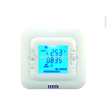 High quality comfortable energy-saving programmable LCD thermostat
