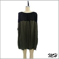 Special Dyed Fashion Design Fashion Cutting Blouse