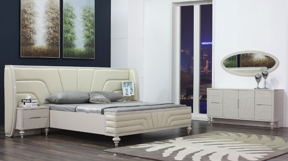 Factory Wholesale wooden used bed room furniture bedroom set