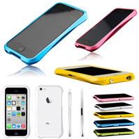 Aluminium Bumper Frame Matal Case For Apple iphone 5c Free Protector