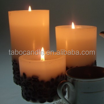 coffee bean scented candle