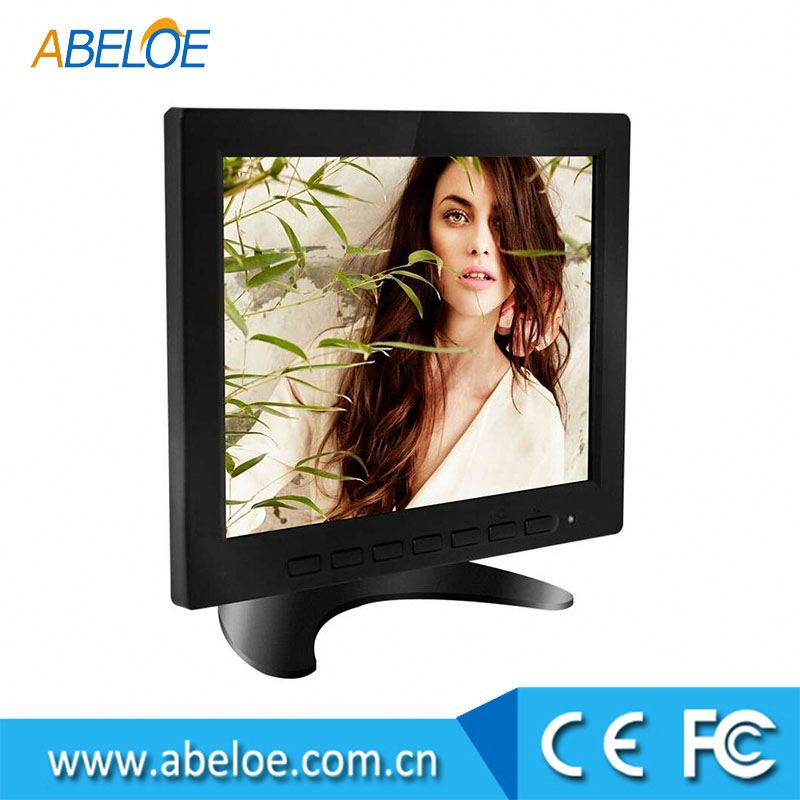 OVM-8000 8 inch CCTV LED Monitor with AV BNC VGA Input Small Surveillance Monitor