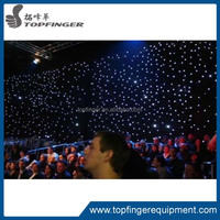 TFR March hot selling LED curtains for stage backdrops/curtain wall wedding decoration