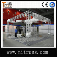 aluminum truss stage light frame,outdoor stage truss design