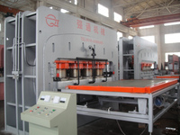 4X8' 1200 ton Short Cycle hot press laminating machine for chipboard