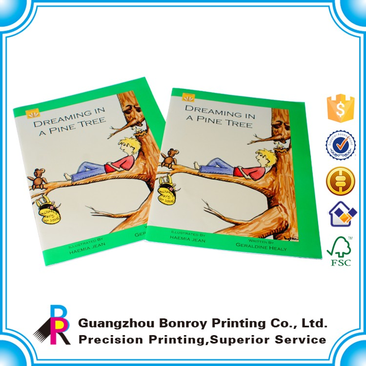 Customized Design Photo Book Cheap English Books For Beginner Children