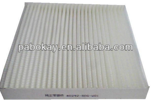 FOR HONDA CIVIC ACCORD LEGEND CR-V CABIN AIR FILTER 80292-SDG-W01 80292-SWW-G01 80292-SHJ-A41 80292-SDA-A01