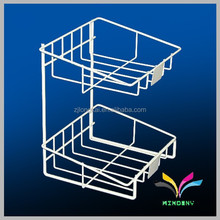 China supplier wholesale high quality unique attractive metal wire decorative design shop shelf equipement