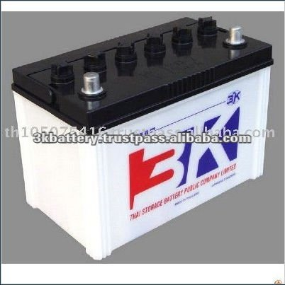 Thailand Top Quality 80 AH Dry Charged Car Battery