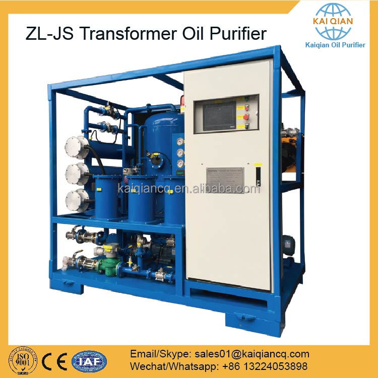 Energy Saving Used Transformer Oil Dehydration Purification