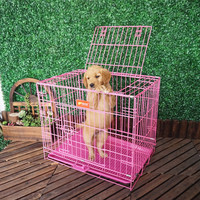 attractive design comfortable removable steel dog animal rabbit cage