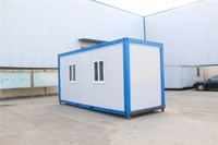 used friendly mobile water 20ft container cheap new mobile homes in Pakistan