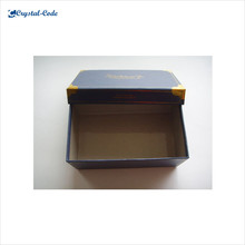 China fashionable high-end customized paper cufflink box