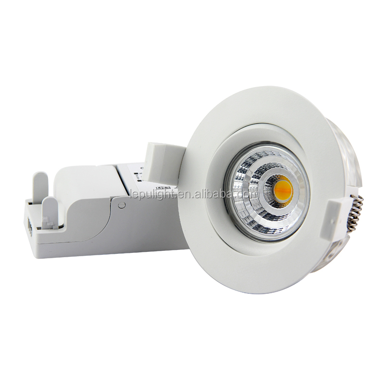 CE Rohs Cutout 83mm IP44 Ra99 dim warm LED downlight dim warm led downlight in Norway