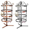 Factory Customized Portable Floor Standing Metal Necklace Holder