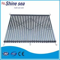 Cost price heat pipe vacuum tube solar collector china