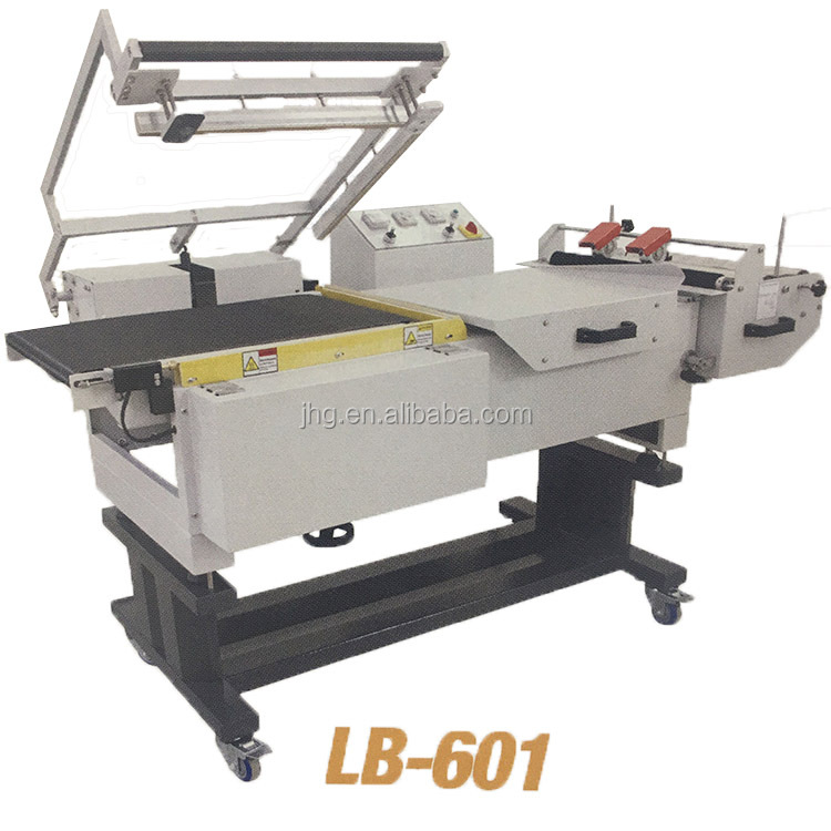 Semi-Automatic L-Bar Book Sealer, Small Automatic Shrink Wrapping Machine