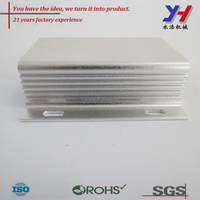 OEM ODM custom anodized aluminum extrusion housing aluminum anti-thunder enclosure/shell for car electron