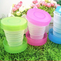 Promotional flexible Collapsible water bottle, travel water bottle