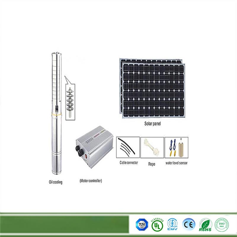 Multifunctional measured dispenser 0.5hp motor pump solar water pumps for wells with CE certificate